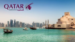 Student fligths on Qatar Airways