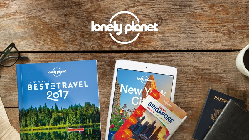 Student discount on Lonely Planet