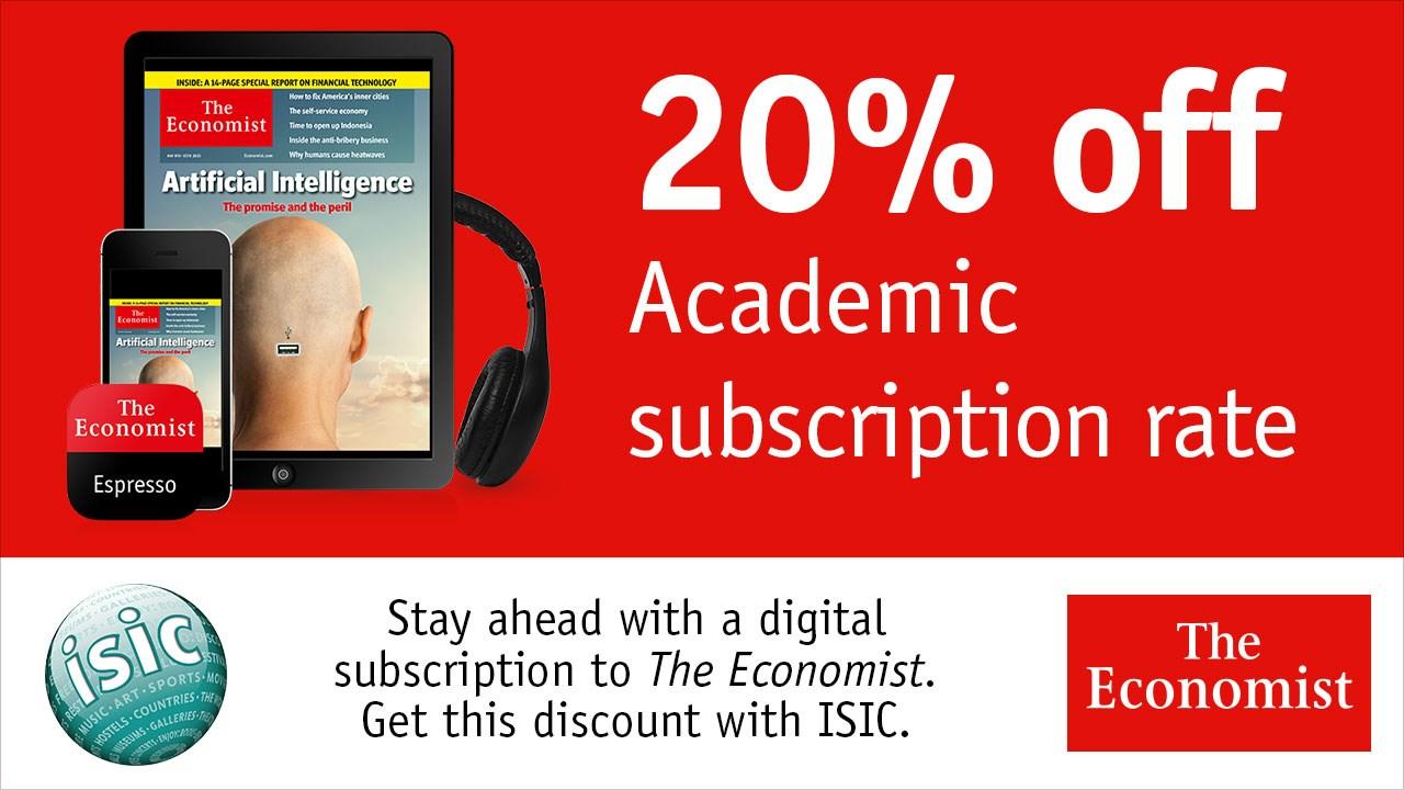 the economist abonnement