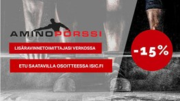 Student discount at Aminopörssi