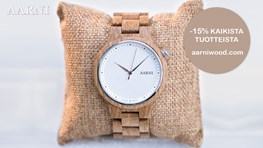 Student discount on Aarni watches