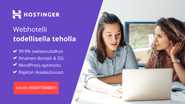 Student discount on Hostinger