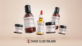 Student discount at Shave Club Finland