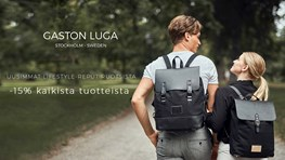 Student discount on Gaston Luga backpacks