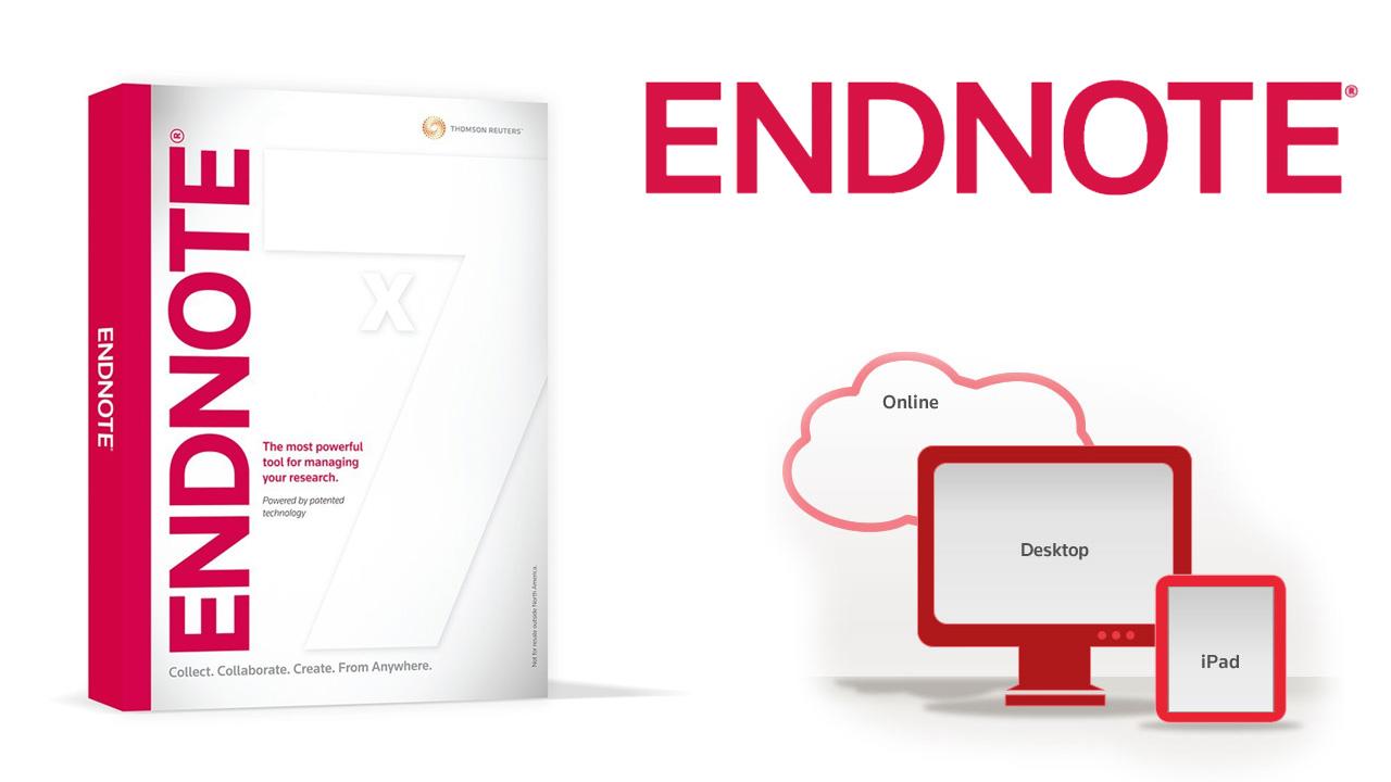 دانلود Thomson Reuters EndNote X7 v17.0.0.7 – جامع ترین نرم افزار مدیریت اطلاعات و اسناد + آموزش